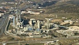 Kleberfabrik, von der Luft Lizenzfreie Stockbilder
