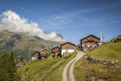 KLeblealm, Sölden, Ötztal, el Tirol Imágenes de archivo libres de regalías