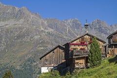 Kleblealm in valle di Oetztal Immagini Stock