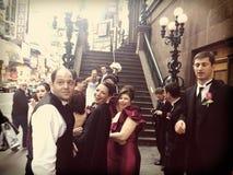 Klebrige Jersey-Hochzeit Lizenzfreie Stockfotos