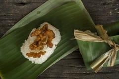 Klebriger Reis stockfotografie