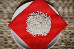 Klebriger Reis. Japanischer Reis Lizenzfreies Stockfoto