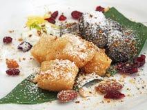 Klebriger Reis-Kuchen Lizenzfreie Stockfotografie