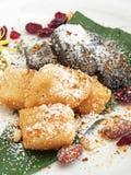 Klebriger Reis-Kuchen Stockfotos