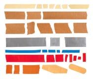 Klebriges Band stockbilder