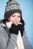 Kleden zich warm voor de winter royalty-vrije stock foto's