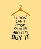 Kleding van citaten Royalty-vrije Stock Afbeelding