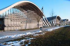 Klee Museum in Bern. The three 'wavwes' of Klee Museum in Bern Stock Image