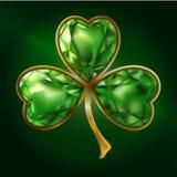 klee schmucksachen bijou St Patrick ` s Tag lizenzfreie abbildung