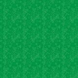 Klee verlässt Hintergrund Tagesshamrocks und -rosen Str Nahtloses Muster Vektor Stockbilder