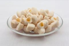 Kleeb Lamduan ή ταϊλανδικά μπισκότα κουλουρακιών Στοκ Φωτογραφίες