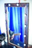 Kleedkamerspiegel Stock Foto