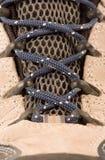 Kleedt wandelingslaarzen of schoenen Stock Afbeeldingen