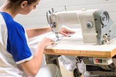 Kleermaker het naaien stock fotografie