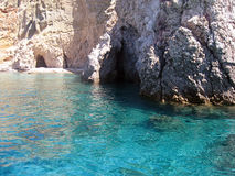 Kleftiko beach, Milos island Royalty Free Stock Photos