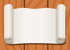 Kleiący deski ślimacznica stary papier ilustracja wektor