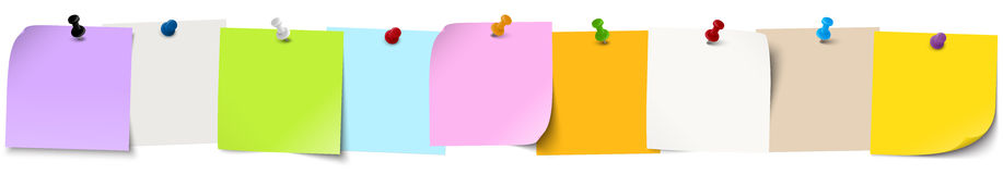 kleiści papiery z wałkowymi igłami ilustracja wektor