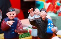 klei beeldje in Peking Royalty-vrije Stock Afbeelding