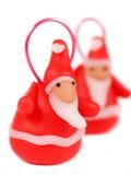 Klei de Kerstman royalty-vrije stock afbeeldingen