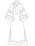 Kleid Stockbild