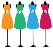 Kleid auf einem Mannequin Lizenzfreie Stockbilder