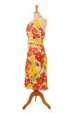 Kleid auf Mannequin Lizenzfreies Stockfoto
