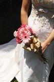 Kleid der Braut stockfoto