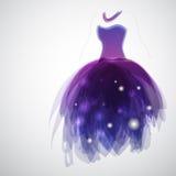 Kleid der Braut Stockfotos