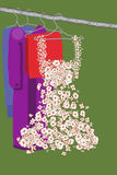 Kleid. Kleidung Lizenzfreies Stockfoto