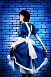 Kleid von Alice lizenzfreies stockfoto