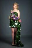 Kleid von den Blumen Lizenzfreies Stockfoto