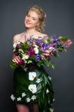 Kleid von den Blumen Lizenzfreie Stockfotos