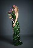 Kleid von den Blumen Lizenzfreies Stockbild