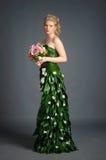 Kleid von den Blumen Lizenzfreie Stockbilder