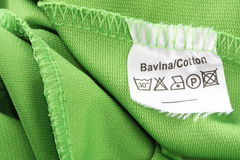 Kleidender Kennsatz Lizenzfreie Stockfotografie