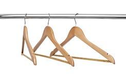 Kleiderbügel Stockbild
