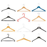 Kleiderbügel-Set Stockfoto