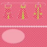 Kleiderhintergrund Stockbild