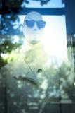 Kleidet blinder Modespeicher des Shops Mannequin Stockfoto