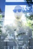 Kleidet blinder Modespeicher des Shops Mannequin Stockbild