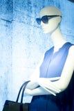 Kleidet blinder Modespeicher des Shops Mannequin Stockbilder