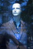 Kleidet blinder Modespeicher des Shops Mannequin Lizenzfreie Stockbilder