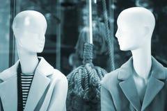 Kleidet blinder Modespeicher des Shops Mannequin Lizenzfreies Stockbild