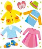 Kleidet Serienfeder Lizenzfreies Stockbild