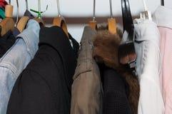 Kleidung lizenzfreies stockbild