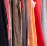 Kleidung Lizenzfreie Stockfotos