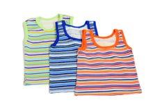 Kleidung der Kinder stockbild