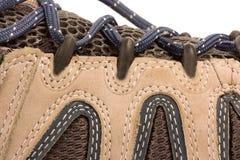 Kleidung, die Matten oder Schuhe wandert Lizenzfreie Stockfotos