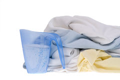 Kleidung für die Wäscherei Lizenzfreie Stockbilder
