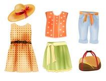 Kleidung für Mädchen Lizenzfreie Stockbilder